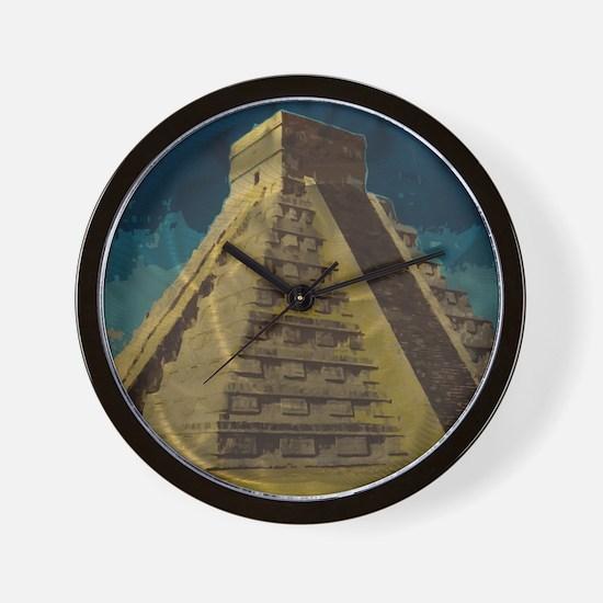 Cute Mayan Wall Clock