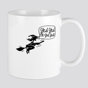 Funny Halloween Witch-01 Mugs