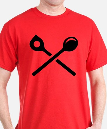 Crossed cooking spoons T-Shirt