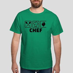 Chef cook equipment Dark T-Shirt