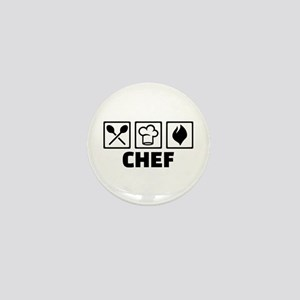 Chef cook equipment Mini Button