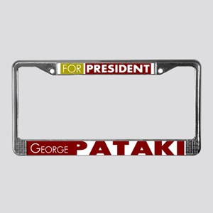 George Pataki for President V1 License Plate Frame