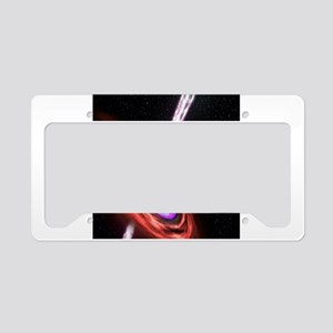 Black Hole License Plate Holder