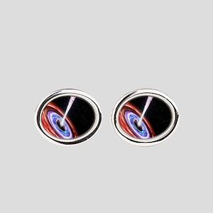 Black Hole Oval Cufflinks