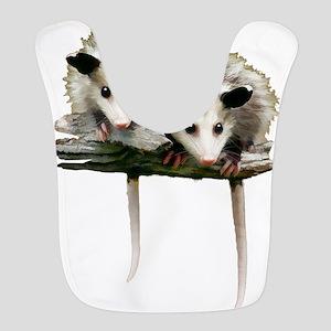 Baby Possums on a Branch Bib