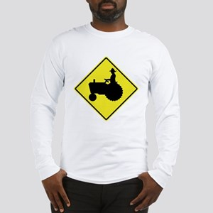 Tractor Crossing 2 Long Sleeve T-Shirt