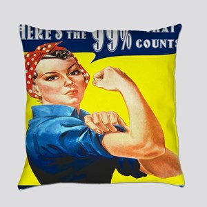 Heres the 99 Percent That Counts Everyday Pillow