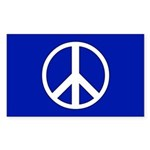 PEACE Sticker (Rect.)