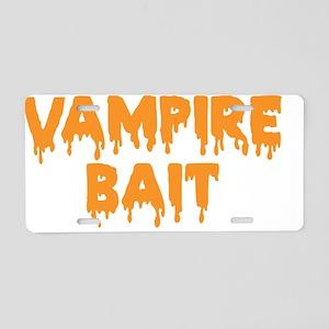Vampie Bait Aluminum License Plate