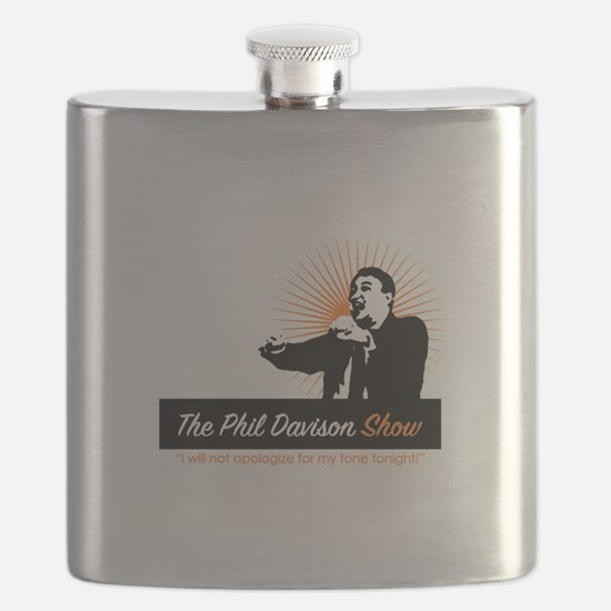 The Phil Davison Show Flask