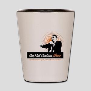 The Phil Davison Show Shot Glass