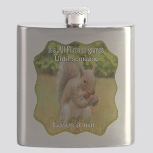 Squirrel Nuts Flask