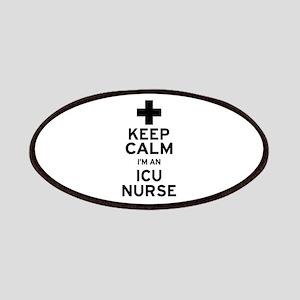 Keep Calm ICU Nurse Patch