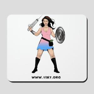 1in7InfertilityWarrior Mousepad