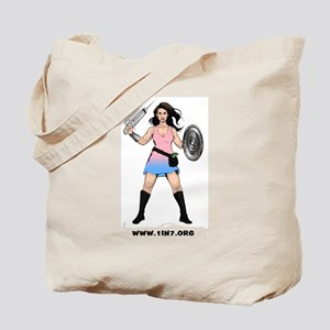 1in7InfertilityWarrior Tote Bag