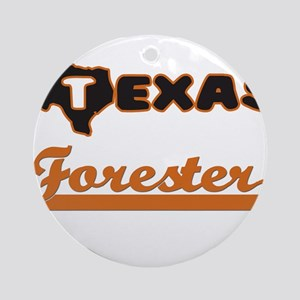Texas Forester Ornament (Round)