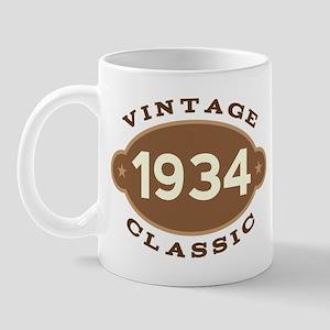 1934 Birth Year Birthday Mug