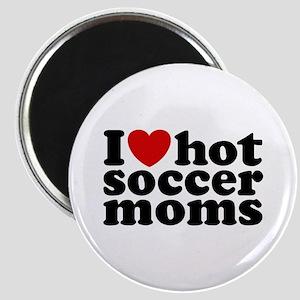 I Love Hot Soccer Moms Magnet