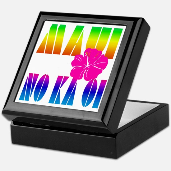Maui No Ka Oi Keepsake Box
