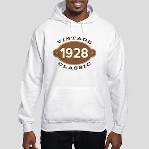 1928 Birth Year Birthday Hooded Sweatshirt
