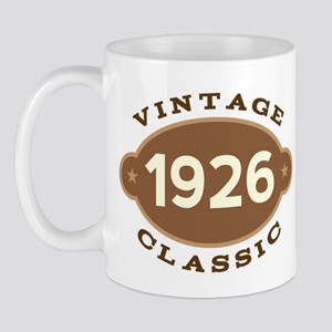 1926 Birth Year Birthday Mug