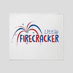 Little Firecracker Throw Blanket
