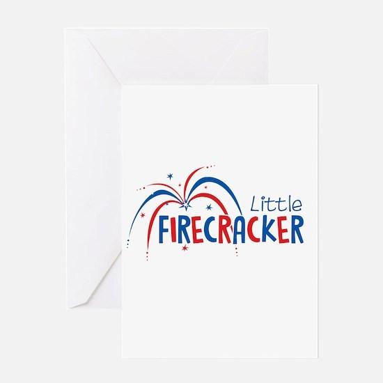 Little Firecracker Greeting Cards