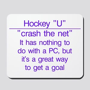 """Crash the net"" Mousepad"