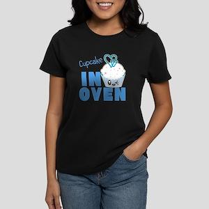 B. Cupcake In Oven Women's Dark T-Shirt