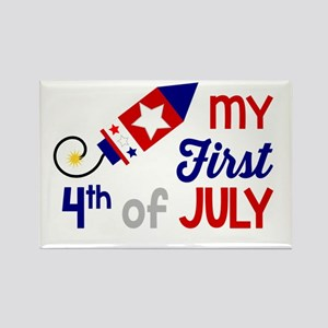 My First 4th of July Magnets