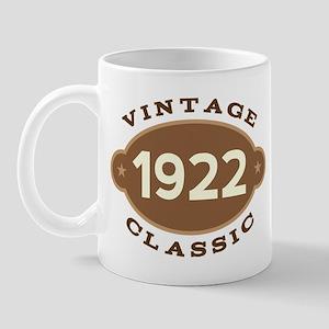 1922 Birth Year Birthday Mug