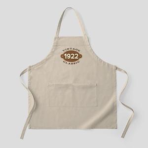 1922 Birth Year Birthday Apron