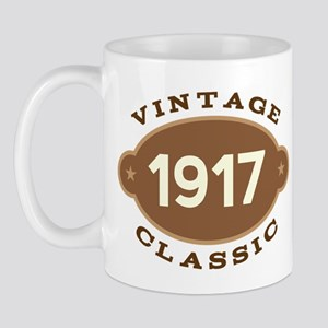 1917 Birth Year Birthday Mug