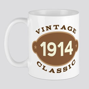 1914 Birth Year Birthday Mug