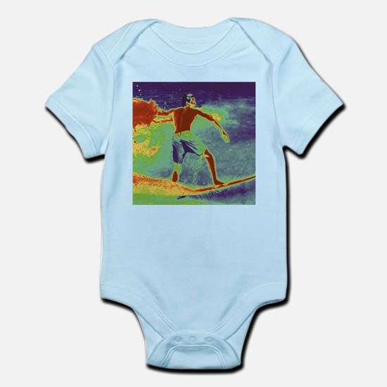 Abstact Surf - Retro SQ Body Suit