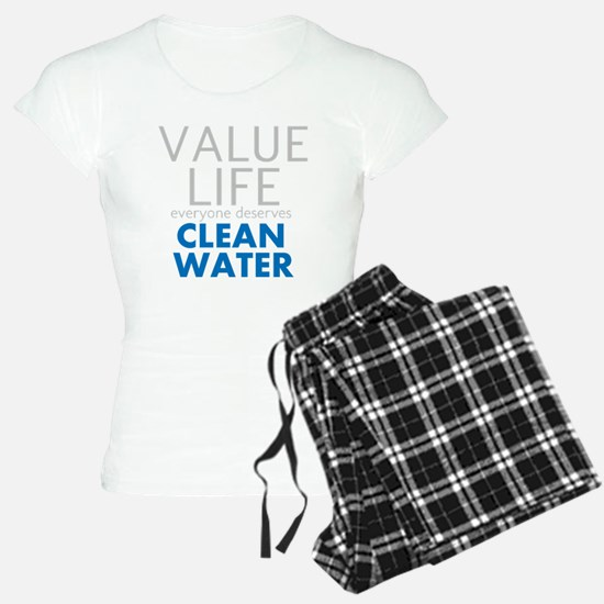 Value Life - Clean Water pajamas