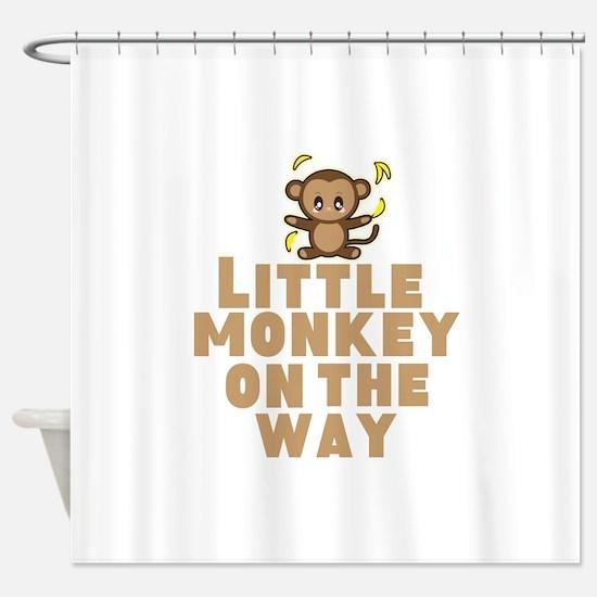 Little Monkey Shower Curtain