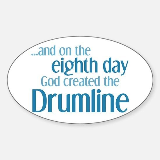 Cute Drumline Sticker (Oval)