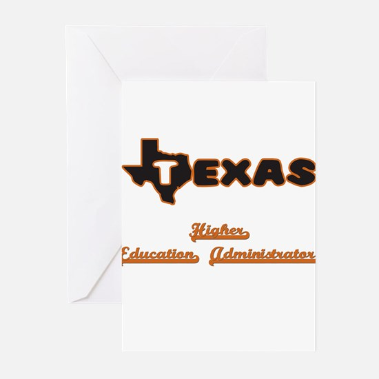 Texas Higher Education Administrato Greeting Cards