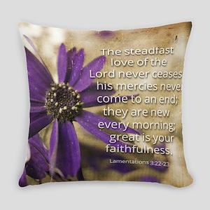 Steadfast Love Everyday Pillow