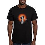 Gauntlet Men's Fitted T-Shirt (dark)