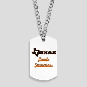 Texas Land Surveyor Dog Tags