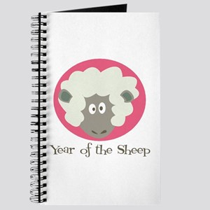Cartoon Year of the Sheep Journal