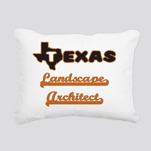 Texas Landscape Architec Rectangular Canvas Pillow