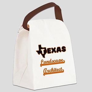 Texas Landscape Architect Canvas Lunch Bag