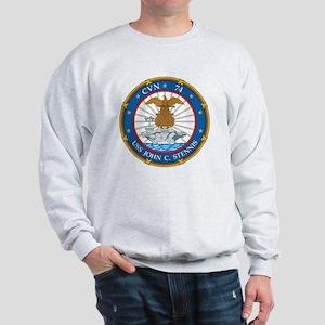 Uss John C Stennis (cvn-74) Sweatshirt
