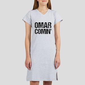 Omar Comin' Women's Nightshirt