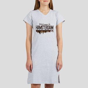 Welcome to Hamsterdam Women's Nightshirt
