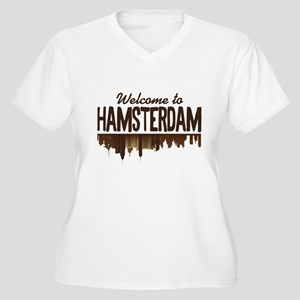 Welcome to Hamsterdam Plus Size T-Shirt