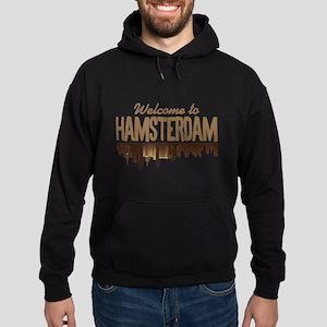Welcome to Hamsterdam Hoodie (dark)